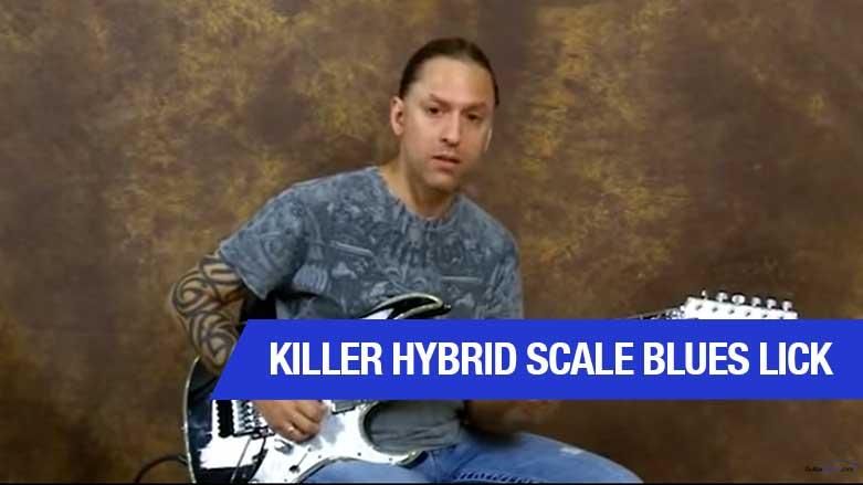 Killer Hybrid Scale Blues Lick