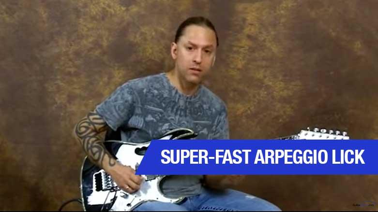 Super-Fast Arpeggio Lick